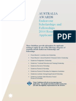 2014 Round Applicant Guidelines - Australia Awards
