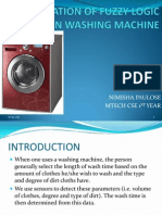 Application of Fuzzy Logic in Washing Machine