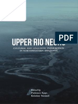 Upper Rio Negro Multilingualism Ethnic Groups