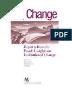 On-change Educational Leadership