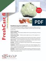 FreshCast wrap for Cauliflower