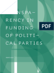 Matakovic_Transparency in Funding of Political Parties Croatia 2013