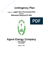 H2S Contingency Plan for Oil & Gas Facility