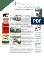 SiteBarra » Vila Pavão inaugura Feira da Agricultura Familiar