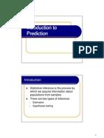 061 Intro to Prediction
