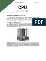 Arsitektur CPU