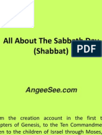 All About The Sabbath Day (Shabbat)