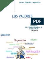 Los Valores Semana 2 Bioetica Leg.