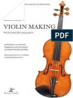 Learn Violin-making With Dmitry Badiarov