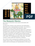 The Manjushri Mantra
