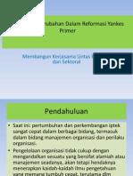 Kerja Sama Lintas Program & Sektoral