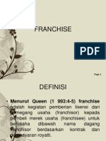 Franchise Ppt