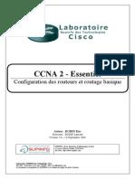 CCNA Résumé Réseau - Configuration des routeurs et routage basique