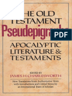 Charlesworth, JH (Ed) - Old Testament Pseudepigrapha, Vol. 1, Apocalyptic Literature & Testaments (Doubleday, 1983)