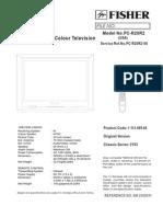 Fisher Naoki Mitsui Columbia PC-R20R2 PCR20R2 Chassis 3Y03 3Y07 LC863224A LA76814K TDA9852 HCD405