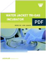 Water Jacket Tri-Gas Incubator