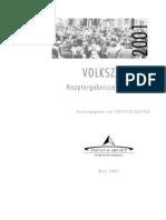 Volkszaehlung 2001 Hauptergebnisse i - Kaernten