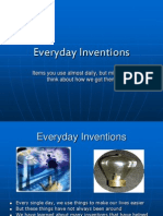 Burke Behne_Everyday Inventions PowerPoint_Everyday Inventions
