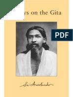 EssaysOnTheGita Sri Aurbindo