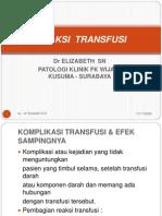 REAKSI  TRANSFUSI