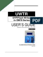 UWTR_UserGuideV1.8