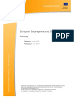 European Employment and Social Policy