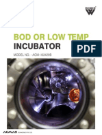 BOD or Low Temp Incubator