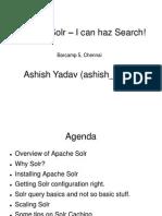 Apache Solr Intro