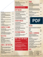 Chicago's Basildon Food Menu
