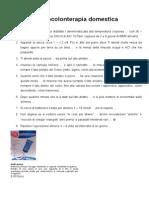 - 18 - MMS - ACI-Argento Colloidale Ionico 10 ppm. - Idrocolonterapia Domestica