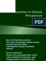 Nutrition in Islamic Perspective(1)