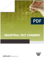Industrial Test Chamber Main Catalogue