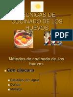 TÉCNICAS DE COCINADO DE LOS HUEVOS