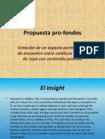 propuesta pro-fondos