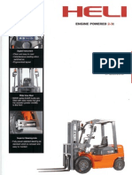 Heli Forklift CPYD25 Product Brochure