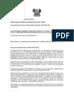 RECOMENDAÇÃO MINISTERIAL Nº 0005 Apurar a existência de macas pertencentes ao SAMU, retidas nos Hospitais