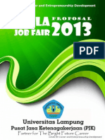 Proposal Unila Job Fair 2013