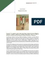 DESPUÉS DE LA CRISIS. Josep Fontana