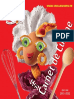 Carnet de Cuisine 2011 - By Wantedx