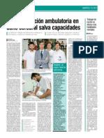 La Unidad de Daño Cerebral del Centro Hospitalario Padre Menni de Santander, en DIARIO MEDICO