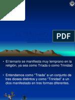 El Ternario en la Religi�n  PRESENTACION.ppt