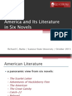 america and its literature final