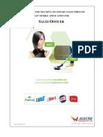 Alkush - SAP - Mobile Application Manual for SO