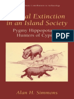 Simmons Faunal Extinction in an Island Society - Pygmy Hippopotamus Hunters of Cyprus, 1999