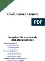 Complicatiile Cronice