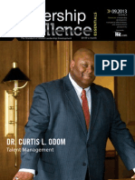 Dr. Curtis L. Odom - September 2013 Leadership Excellence Talent Management Article