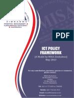 Zimbabwe Ict Framework