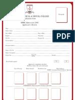 IM&DC Application