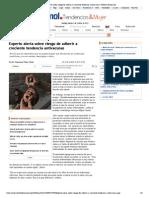 Experto Alerta Sobre Riesgo de Adherir a Creciente Tendencia Antivacunas _ T&M en Emol