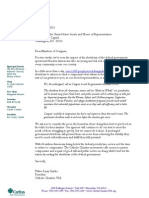 Shutdown Letter and Petition to Congress 10-15-2013